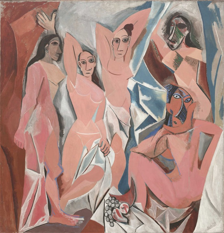 Les Demoiselles d'Avignon | © 2017 Estate of Pablo Picasso / Artists Rights Society (ARS), New York