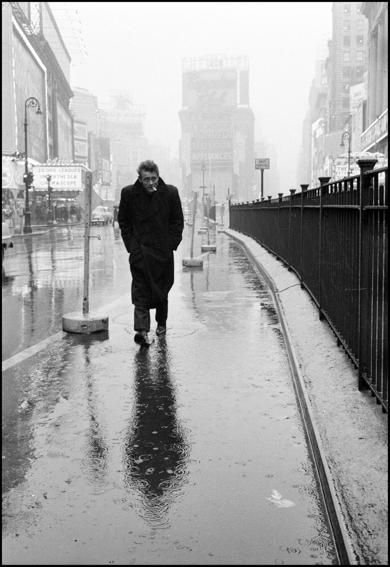 Dennis Stock, James Dean, Times Square, New York City, USA, 1955