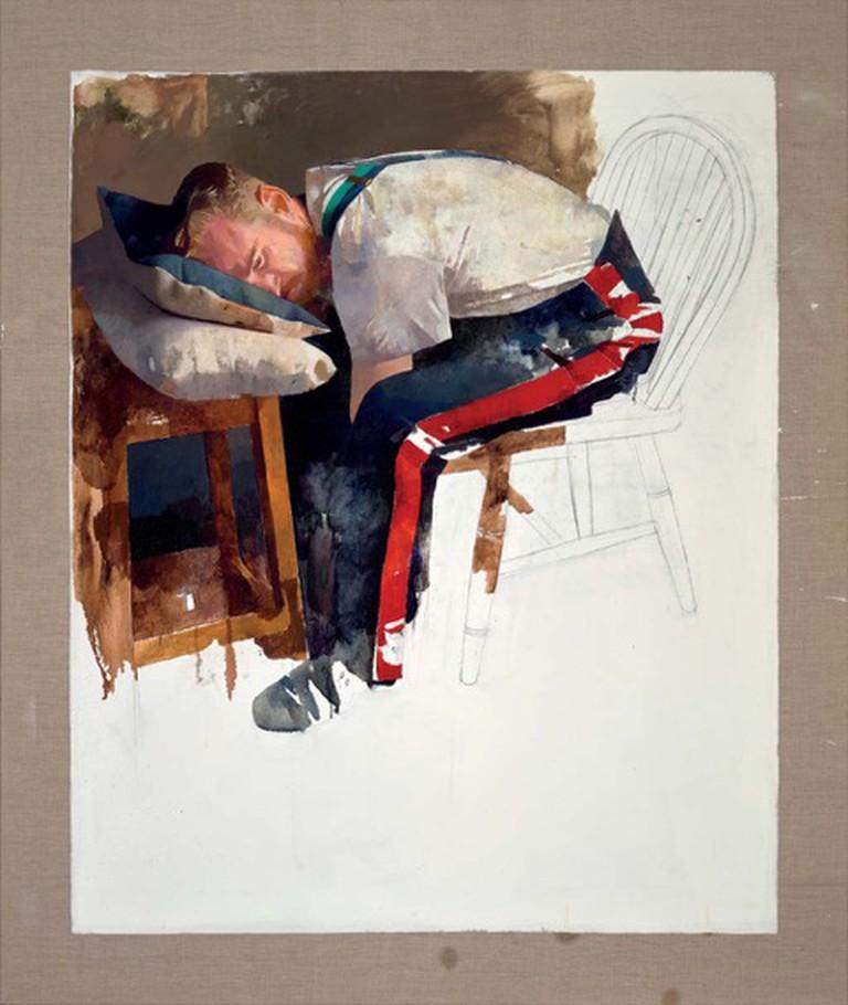 Diarmuid Kelley, 'Courbet, Saviour of The World', 2017. Courtesy of the artist and Diarmuid Kelley, 'Courbet, Saviour of The World', 2017. Courtesy of the artist and