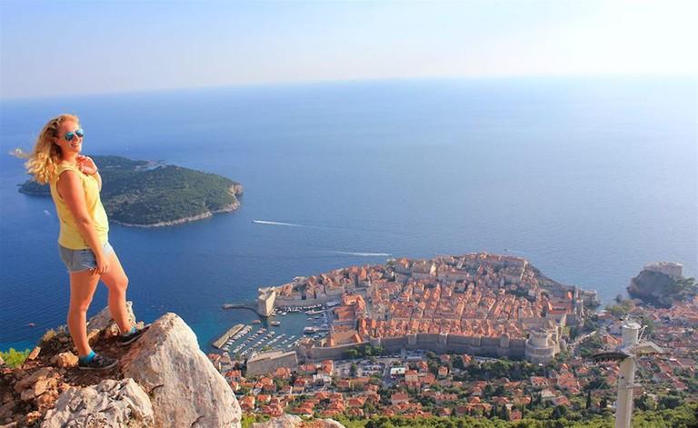 Janet Newenham in Dubrovnik | Courtesy of Janet Newenham