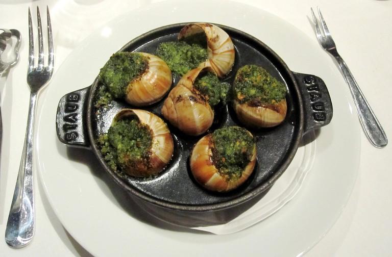 Escargots à la Bourguignonne ©Eastingeast/Wikicommons