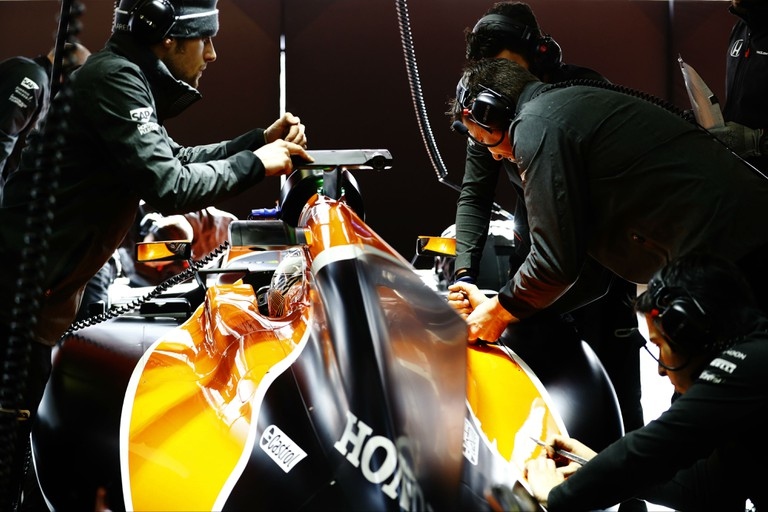 F1 Testing Circuit in Barcelona | Courtesy Stratasys