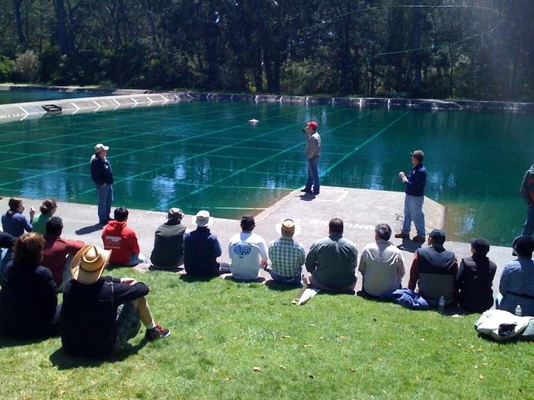 Fly Casting Workshop at the Golden Gate Park casting pools