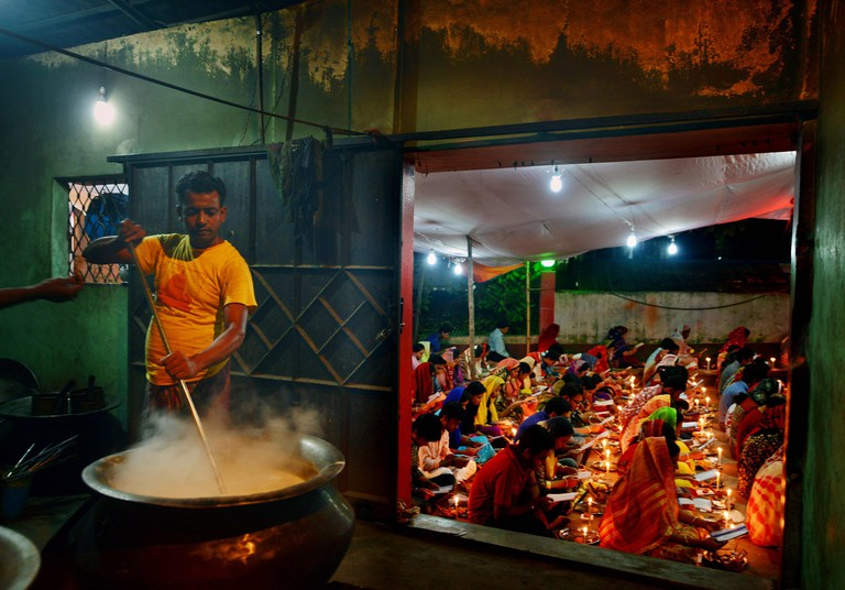 'Food for God' by Shoeb Faruquee took top prize in the Pink Lady® Food Photographer of the Year