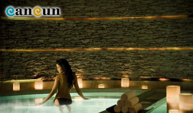 Hydrotherapy| Courtesy of Cancun.Travel