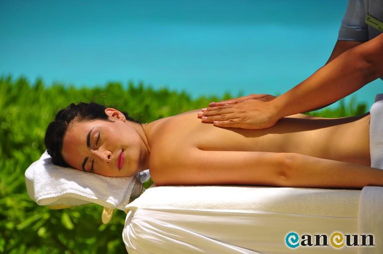 Massage | Courtesy of Cancun.Travel