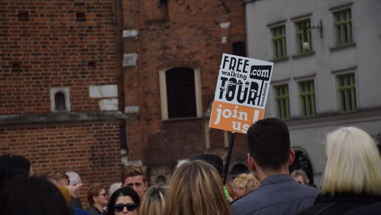 Free Walking Tour, Krakow