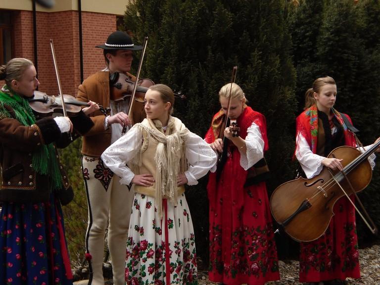 Góralski zespół instrumentalny | © Piotr Drabik/Flickr