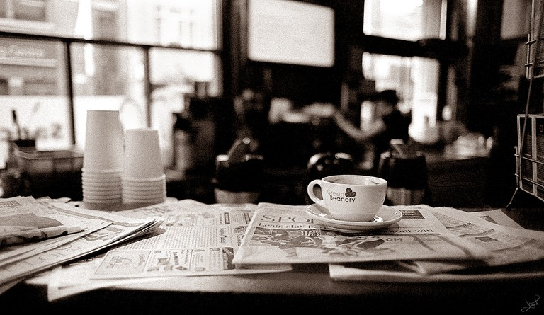 Solo coffee at the Green Beanery, Toronto | © tsaiproject/ Flickr