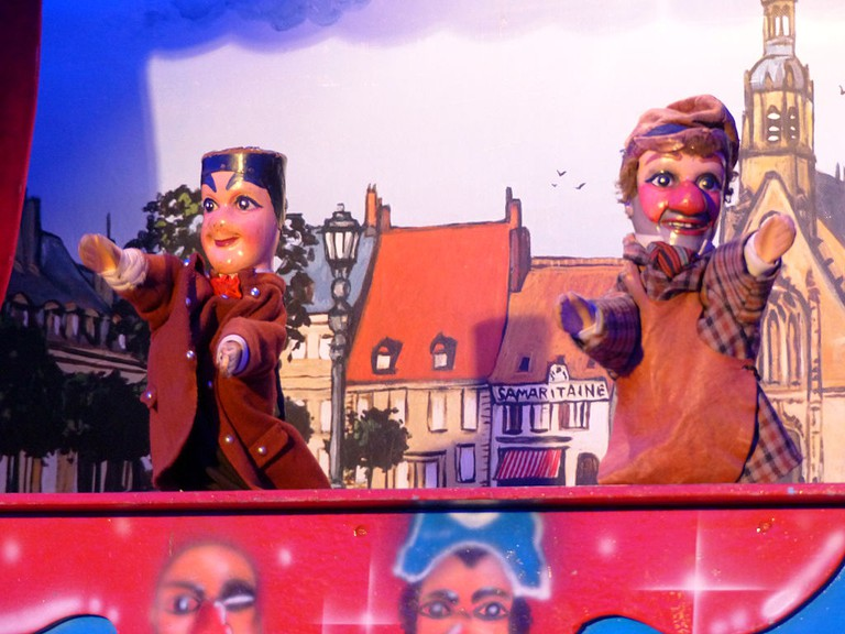 Guignol and Gnafron │© Dr. Bernd Gross / Wikimedia Commons