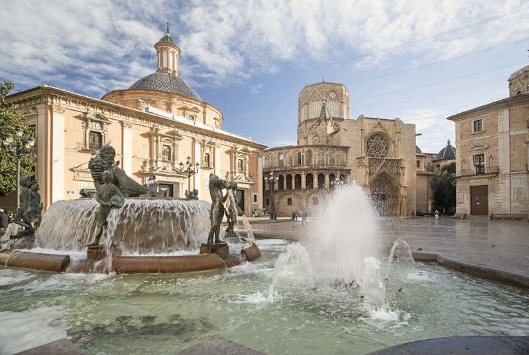 Plaza del Virgen, Valencia. Photo courtesy of Valencia Tourism