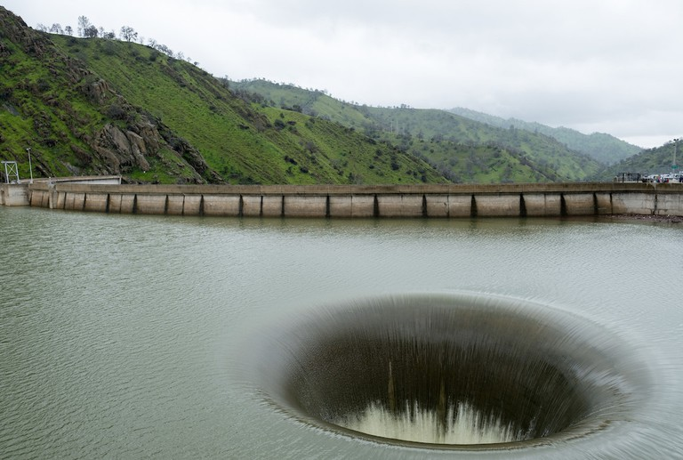 Lake Berryessa Glory Hole|©Jeremy Brooks/Flickr