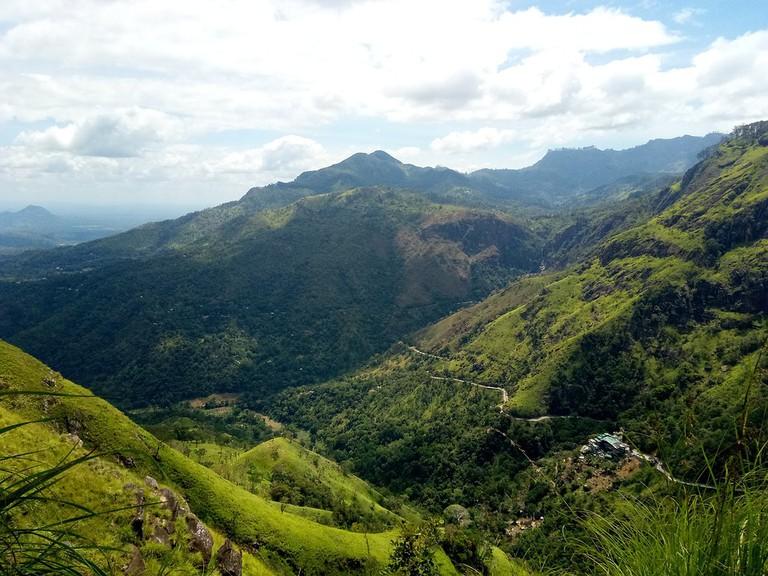 Hill Travel Landscape Mountain Sri Lanka Nature
