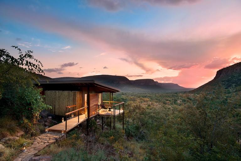 Marataba lodge with view