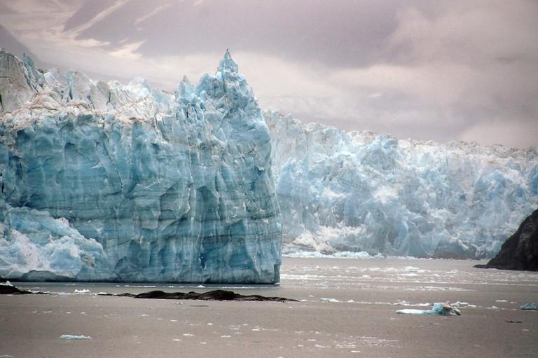 The Hubbard Glacier|©Bernard Spragg.NZ/Flickr