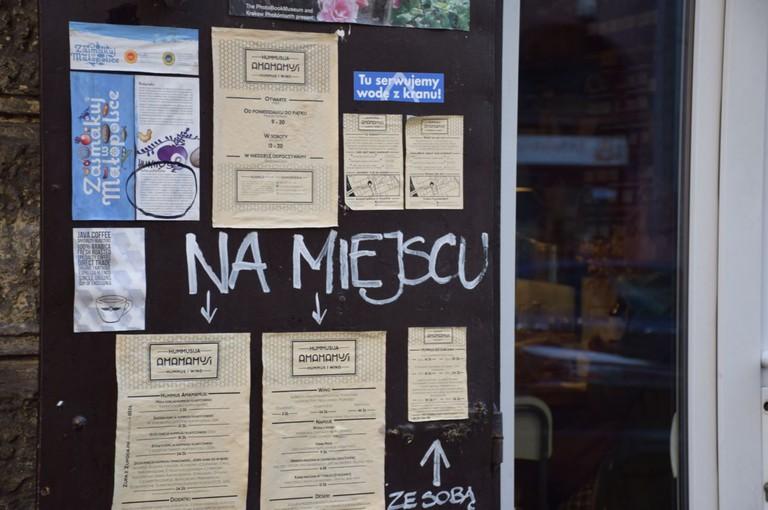 Hummus Amamamusi, Krakow