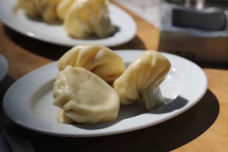 Georgian soup dumplings