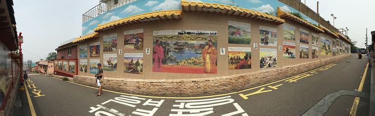 Samgukji Mural Street   © Jjw