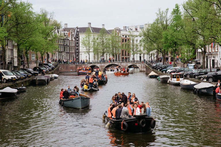 King's Day-Amsterdam-Netherlands