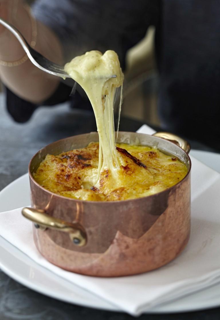 InterContinental London Park Lane Food at the Table: Mac & Cheese