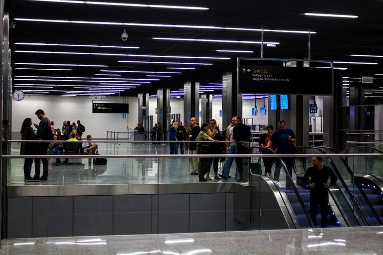 EPKK (Krakow, Poland) – New terminal