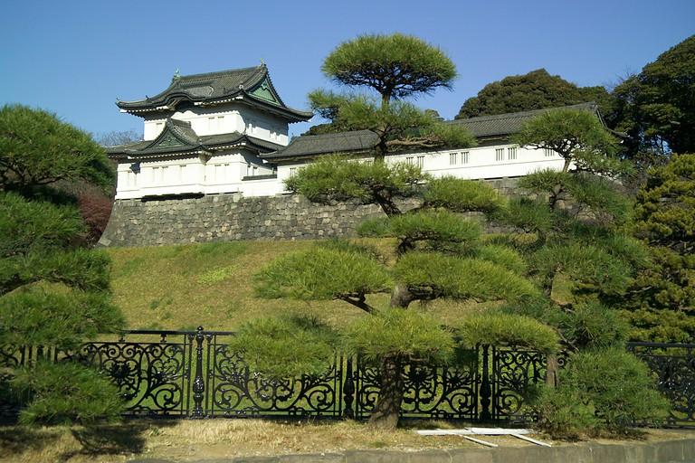 Fushimi-yagura, one of the remaining keeps of Edo Castle
