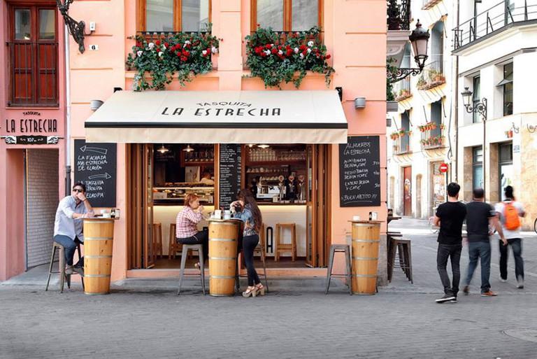 La Estrecha cafe, Valencia. Photo courtesy of La Estrecha.