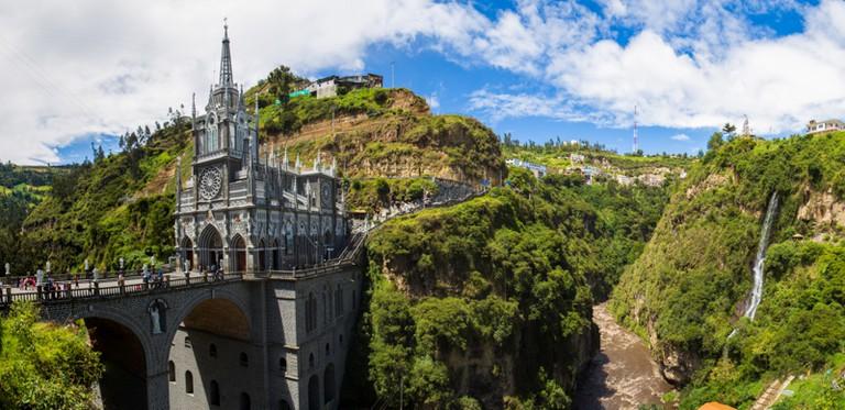 Las Lajas Sanctuary Colombia © Brendan Van Son / Brendan's Adventures