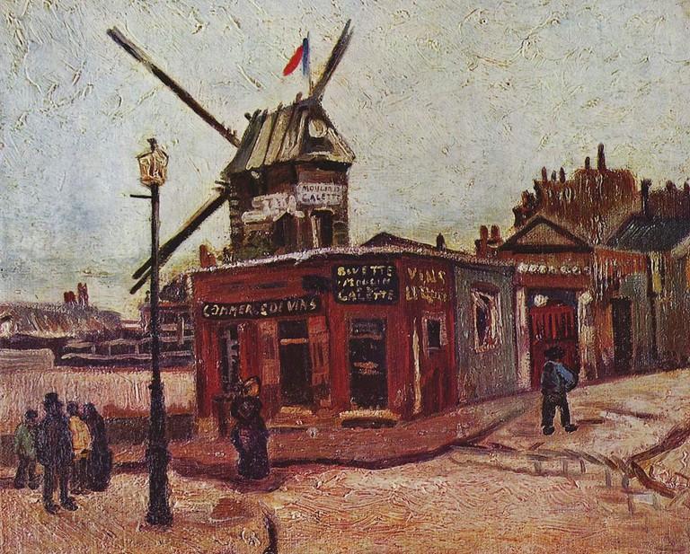 Le Moulin de La Galette (1886) │© Vincent van Gogh / Wikimedia Commons