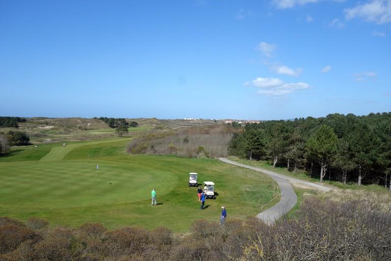 Golf du Touquet ©Sylvia Edwards Davis