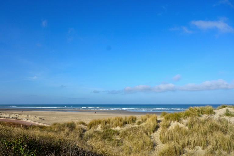 The sandy dunes and wide sands of Le Touquet ©Sylvia Edwards Davis