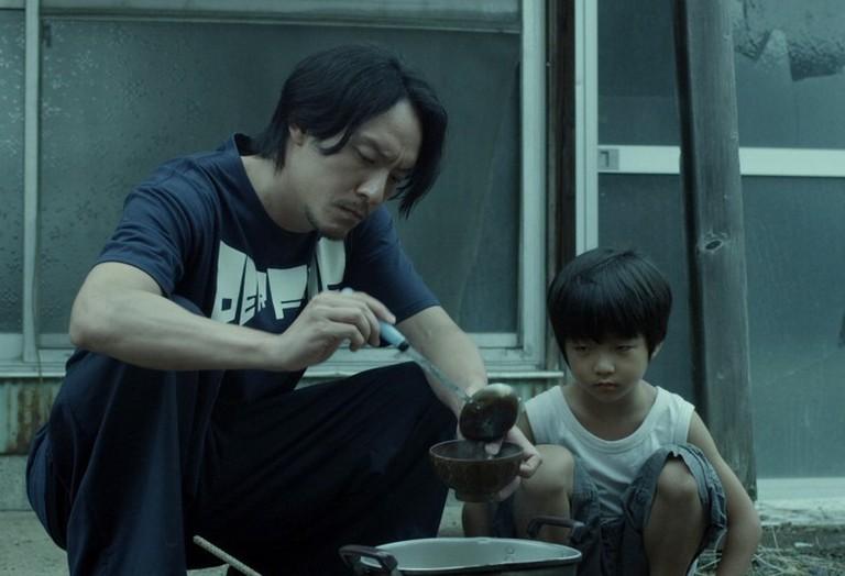 Chang Chen and Run-yin Bai in 'Mr. Long'
