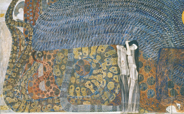 Gustav Klimt: Beethoven frieze (Secession)