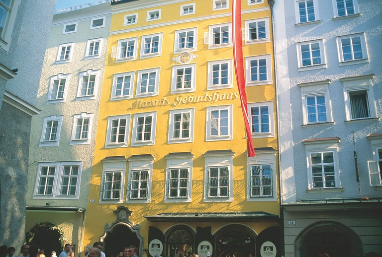 Exterior of the Mozart museum