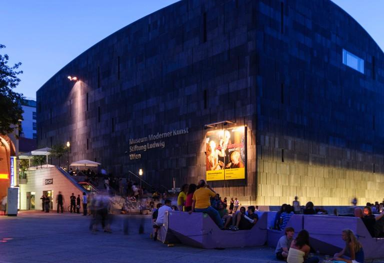 Museumsquartier, the MUMOK