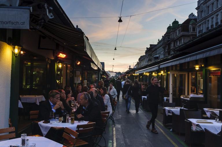 Naschmarkt in Vienna | © Österreich Werbung/Volker Preusser