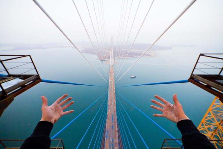 Russky Bridge across the Eastern Bosphorus strait | © Kirill Vselensky