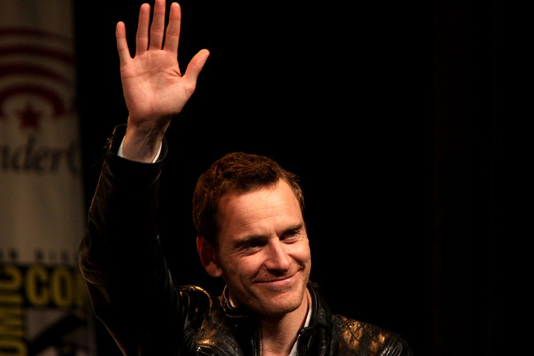 Michael Fassbender speaking at the 2012 WonderCon in Anaheim, California | © Gage Skidmore/Flickr