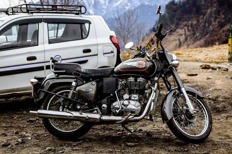 Motorbike. Ladakh, India
