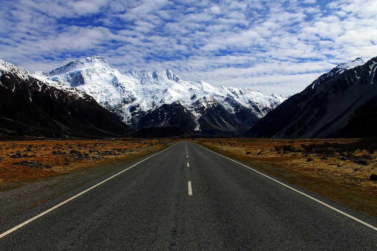 New Zealand Highway | © lasseholsthansen/Pixabay