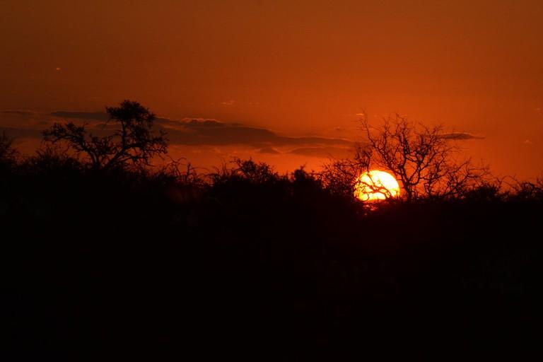 Sunset at Mapungubwe