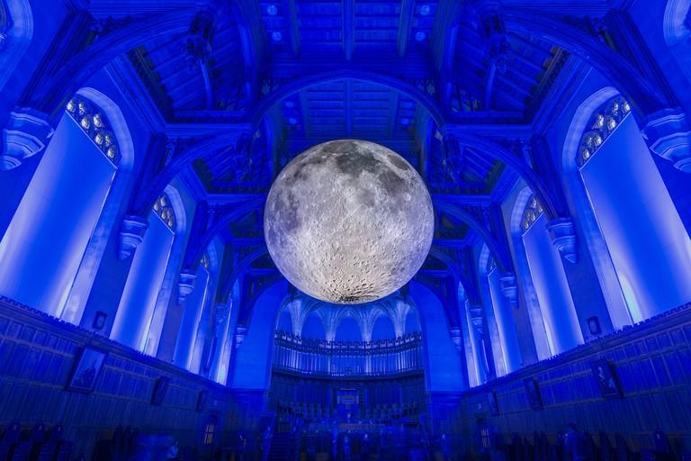Museum of the Moon at University of Bristol | Photo © Carolyn Eaton