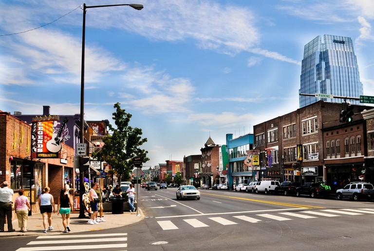 Downtown Nashville   © Ole Bendik Kvisberg / Flickr