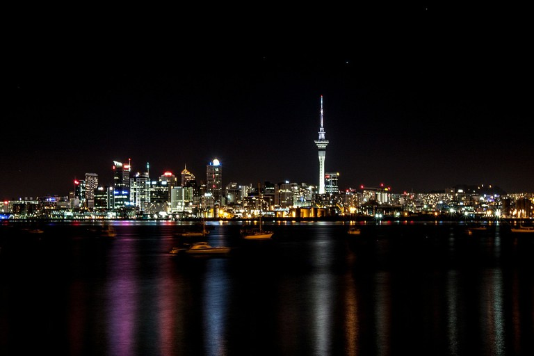 Auckland at Night | © bkumar/Pixabay
