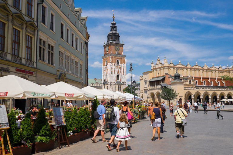Old Town Square Krakow