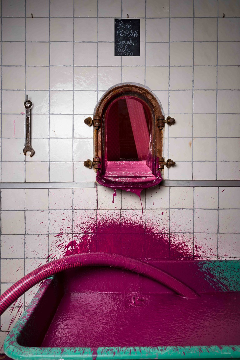 Errazuriz Wine Photographer of the Year (Places): The Rosé Wine Tank