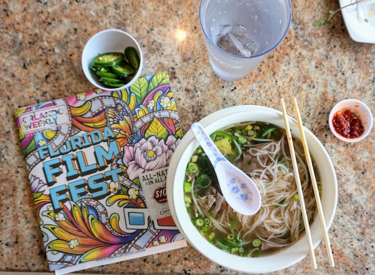 Orlando's Best Pho at Pho88 || Photo Credit Kelsey Glennon