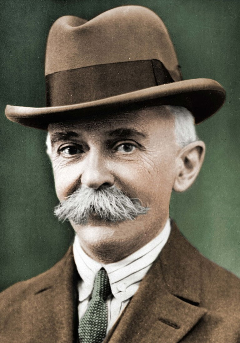 Pierre de Coubertin, founder of the modern Olympic Games | © Dutch National Archives, The Hague, Fotocollectie Algemeen Nederlands Persbureau (ANEFO), 1945-1989/WikiCommons