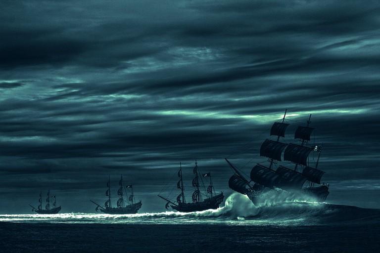 Pirate Ships|© Three-Shots/PixaBay