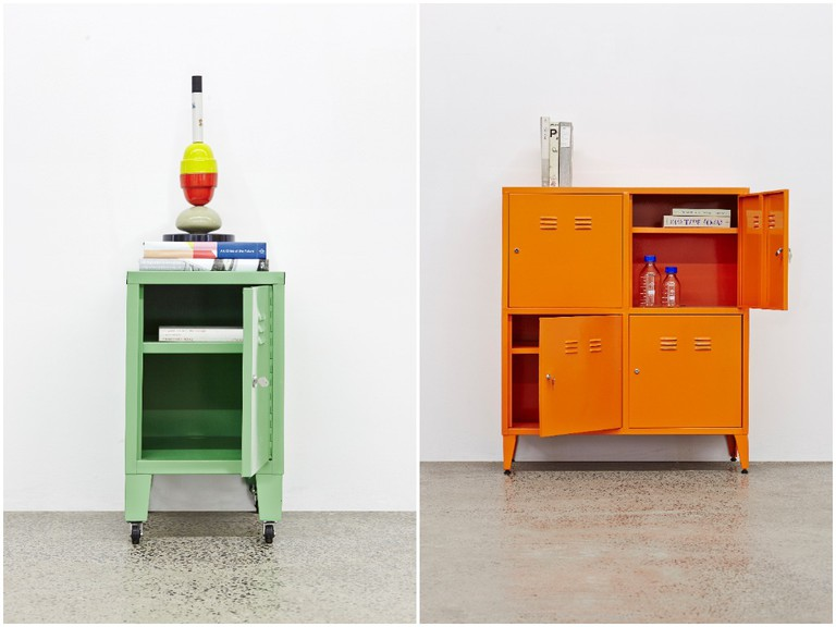 Cool, retro lockers from Mother City Hardware © Courtesy of Mother City Hardware